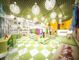 Дизайн проект дектского магазина фото