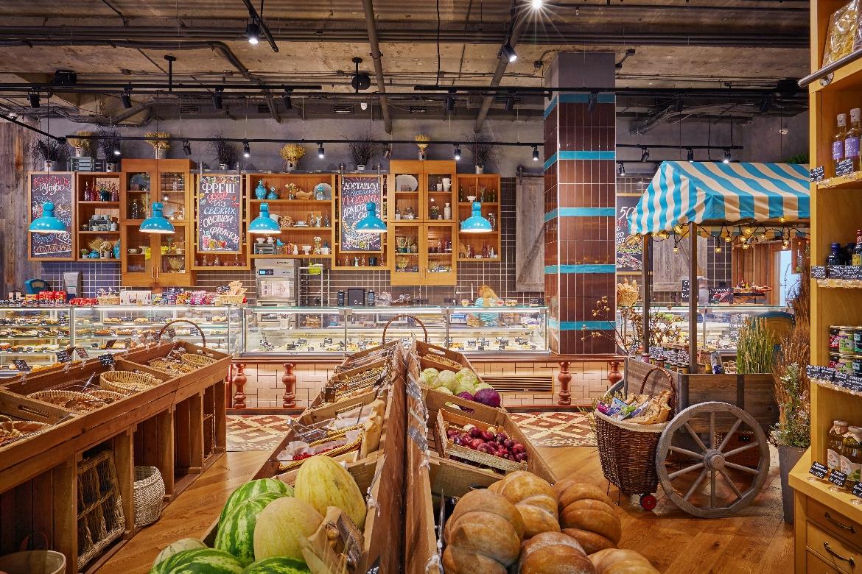 средней полосе красивые сельские магазины фото пара фото