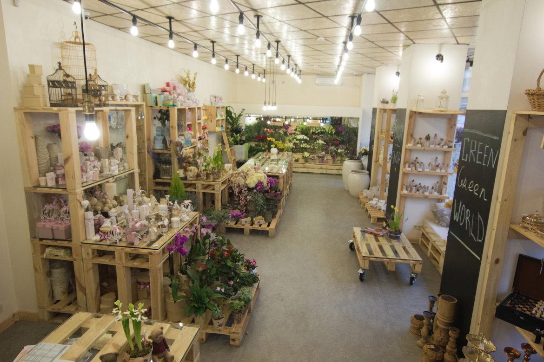 Дизайн для цветочных магазинов фото
