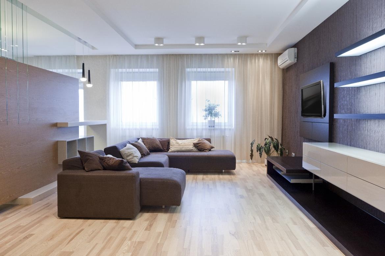 Дизайн-проект зала 20 кв.м. визуализация интерьера фото