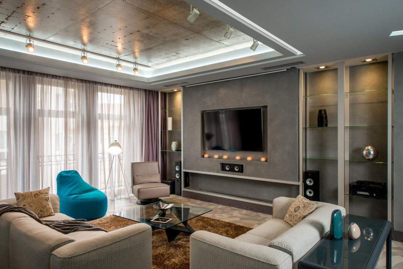 Фото интерьера квартиры в современном стиле