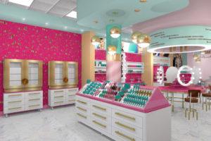 Магазин косметики дизайн интерьера фото