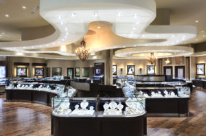 Дизайн ювелирного магазина фото