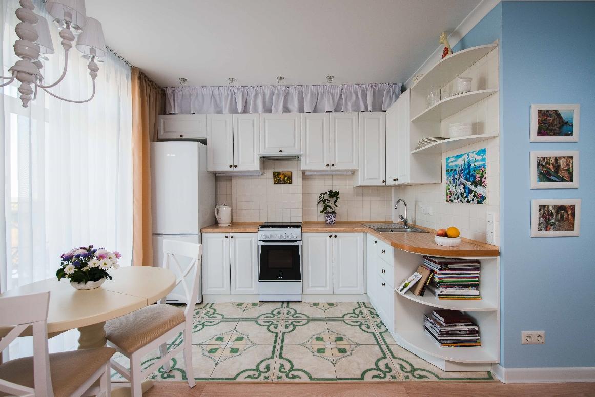 Функциональный дизайн-проект кухни фото