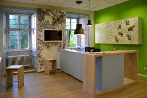 Дизайн офиса турагентства